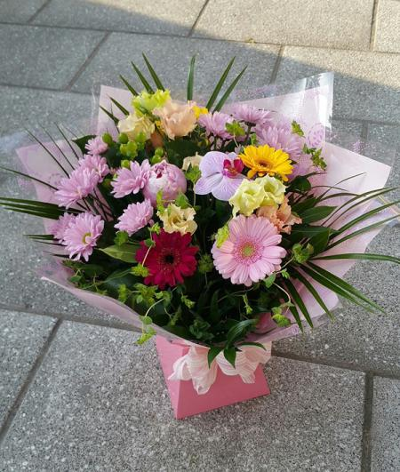 Pastel Hand Tied Bouquet