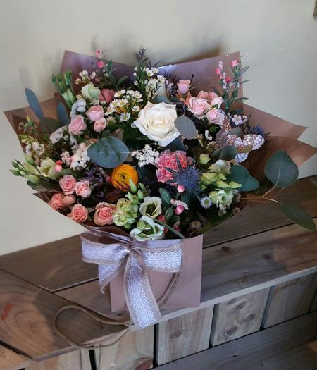 Vintage Style Hand Tied Bouquet