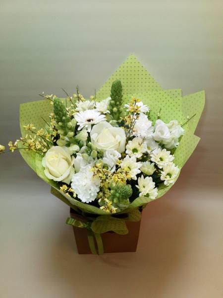 Scented Hand tied Bouquet in bag