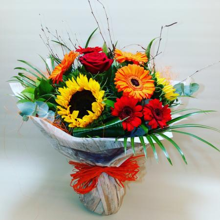 Autumn Hand Tied Bouquet