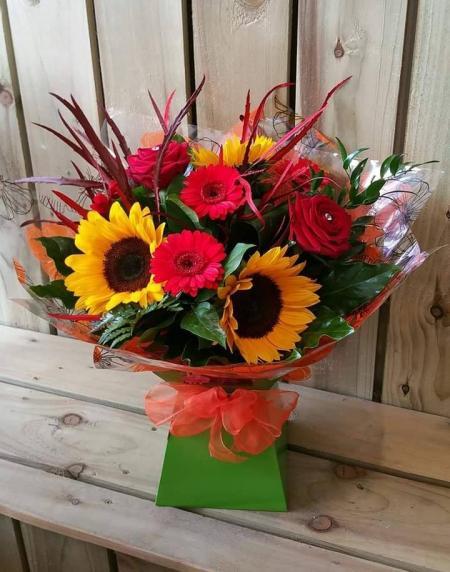 Vibrant Flower Gift